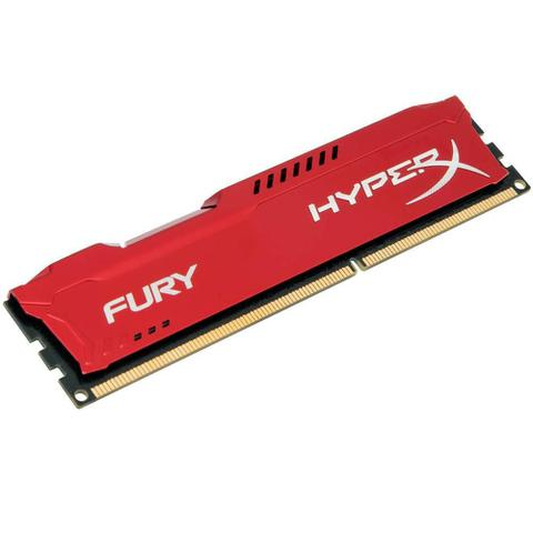 Imagem de Memoria Hyperx Fury, 8gb, 1333mhz, Ddr3, Cl9, Vermelho Hx313c9fr8