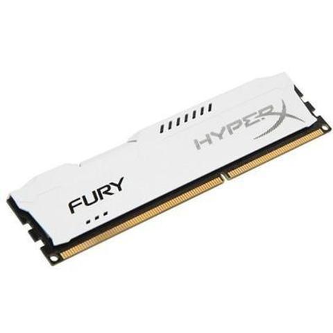 Imagem de Memória HyperX Fury, 8GB, 1866MHz, DDR3, CL10, Branco - HX318C10FW/8