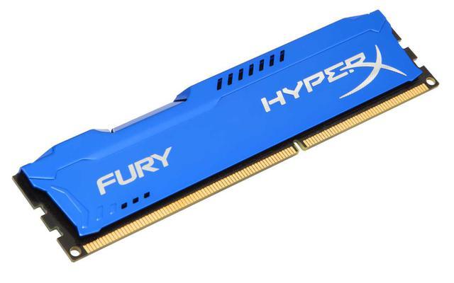 Imagem de Memória Kingston HyperX FURY 8GB 1600MHz DDR3 Blue Series HX316C10F/8