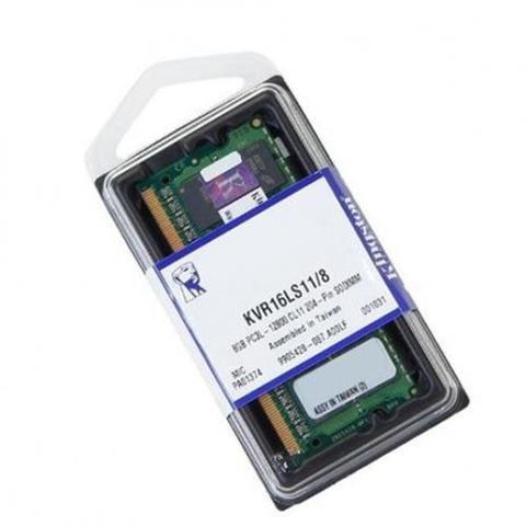 Imagem de Memoria Notebook Ddr3 Kingston Kvr16ls11/8 8gb 1600mhz Ddr3l Cl11 204-pin Sodimm Low Voltage 1.35v