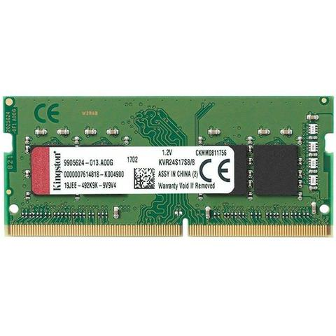Imagem de Memória Notebook DDR4 8GB 2400 Mhz CL17 SO-DIMM Kingston