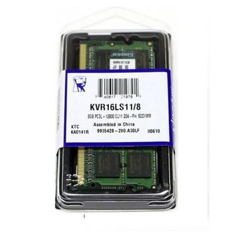Imagem de Memória para Notebook 8GB, 1600MHz, DDR3, 1,35V, KVR16LS11/8 - Kingston