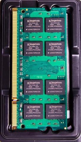 Imagem de Memória Ram 4gb 1x4gb Kingston Kvr1333d3s9/4g Pc3-10600 1.5v PR