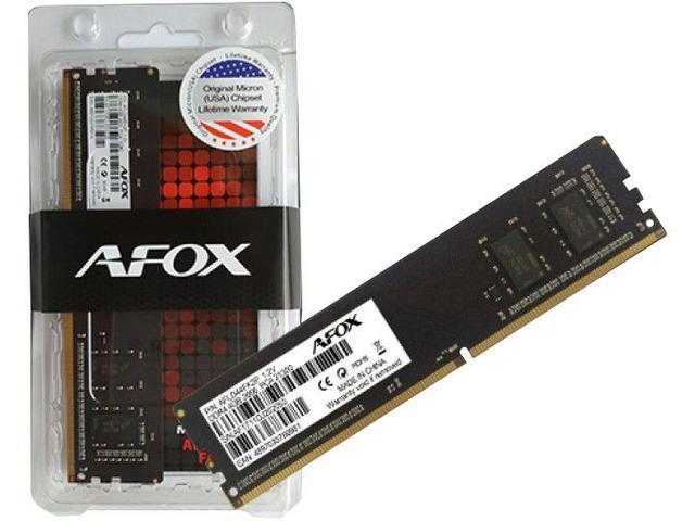 Imagem de Memória RAM 8GB DDR3 Afox AFLD38BK1P 1600Mhz
