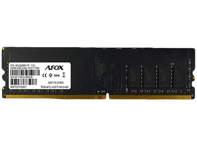 Imagem de Memória RAM 8GB DDR4 Afox AFLD48EH1P 2400Mhz