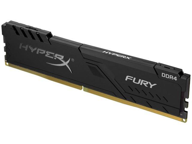 Imagem de Memória RAM 8GB DDR4 HyperX Fury 2400Mhz