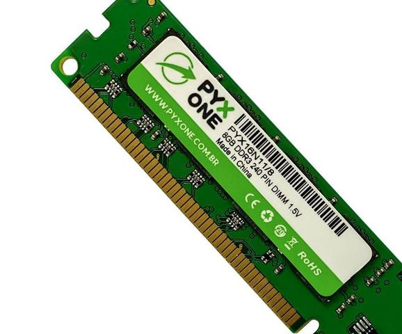 Imagem de Memória Ram Pyx One Ddr3 8gb 1600 Mhz
