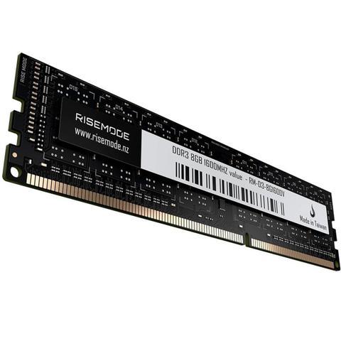 Imagem de Memória Rise Mode 8GB DDR3 1600Mhz RM-D3-8G1600V