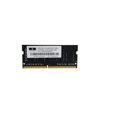 Imagem de Memória Win Memmory Sodimm Notebook DDR4, 266MhHz, 4GB