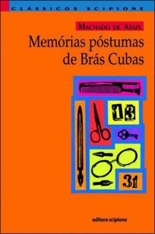 Imagem de Memorias postumas de bras cubas -  coleçao reencontro