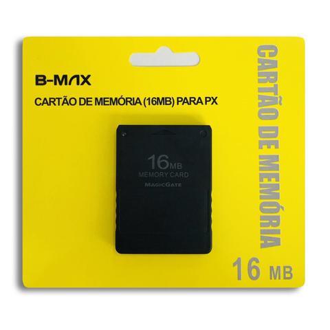 Imagem de Memory Card 16mb Playstation 2 Ps2 Cartão De Memoria Lacrado - B-Max