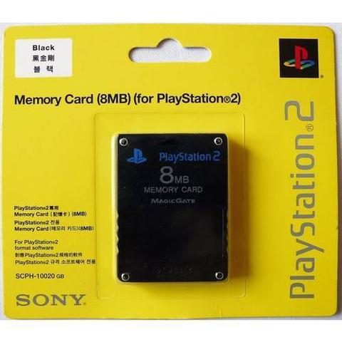 Imagem de Memory Card Para Playstation 2 Ps2 8mb Lacrado