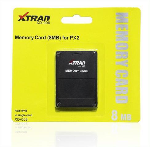 Imagem de MEMORY CARD para PS2 8MB - XD008