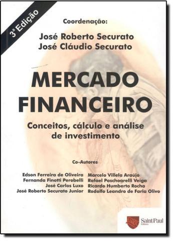 Imagem de Mercado Financeiro: Conceitos Cálculos e Análises de Investimentos - Saint paul