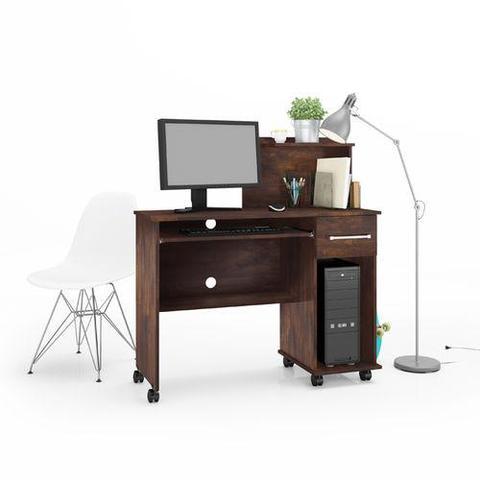 Imagem de Mesa Computador Studio Noce - Lukaliam