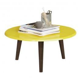 Imagem de Mesa de Centro Brilhante Amarela