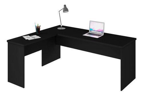 Imagem de Mesa De Escritório Escrivaninha Em L 1.40x1.50 Tampo 30mm