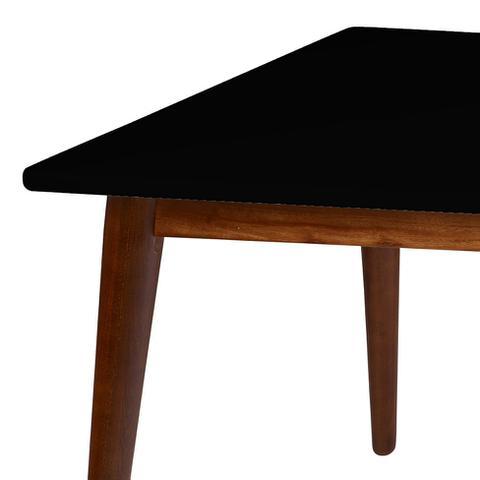 Imagem de Mesa de Jantar 1,60 Cacau  Preto Novita