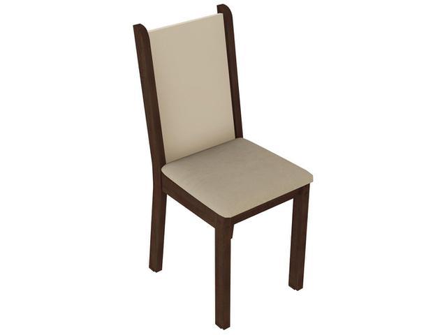 Imagem de Mesa de Jantar 4 Cadeiras Quadrada
