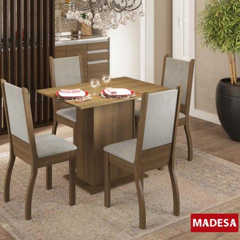 Imagem de Mesa de Jantar 4 Lugares Isabel Rustic/Pérola