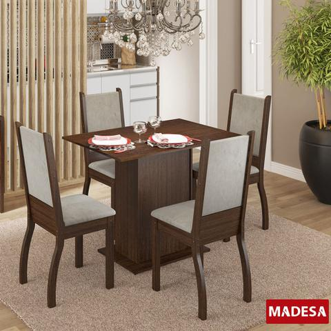 Imagem de Mesa de Jantar 4 Lugares Isabel Tabaco/Pérola