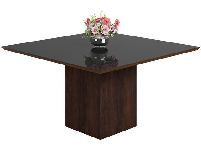 Imagem de Mesa de Jantar 8 Cadeiras Quadrada Viero Móveis