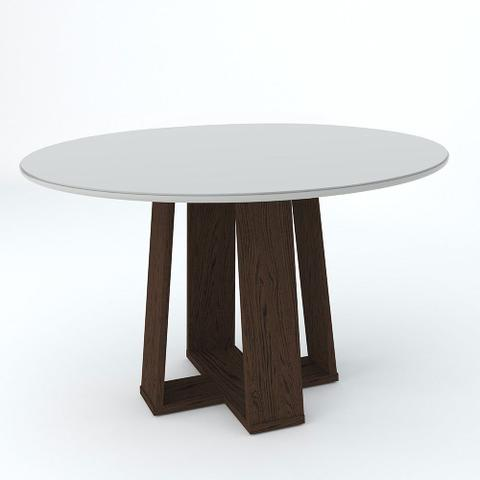 Imagem de Mesa de Jantar Redonda Isabela com 6 Cadeiras Amanda New Ceval