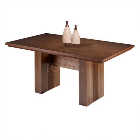 Imagem de Mesa de Jantar Siena - Tampo Madeira - Tommy Design