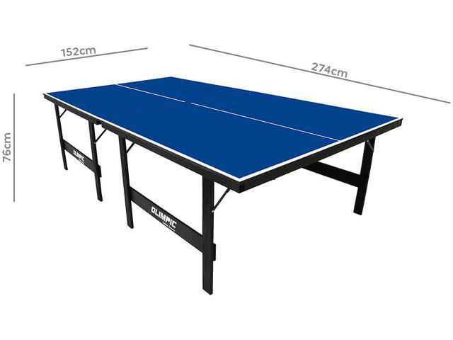 Imagem de Mesa de Ping Pong Dobrável 15mm Klopf 1005