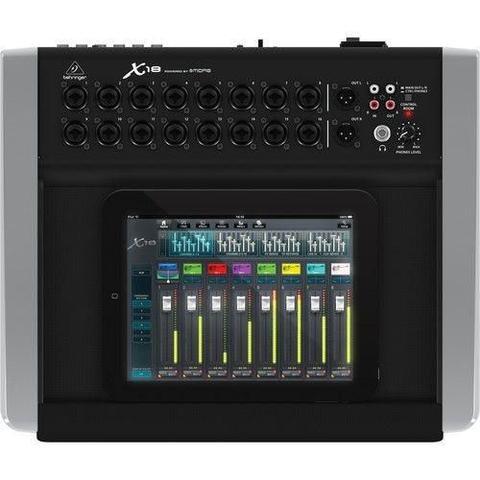 Imagem de Mesa de Som digital Behringer X-Air X18 p/ iPad/Android c/ 18 entradas e 16 prés