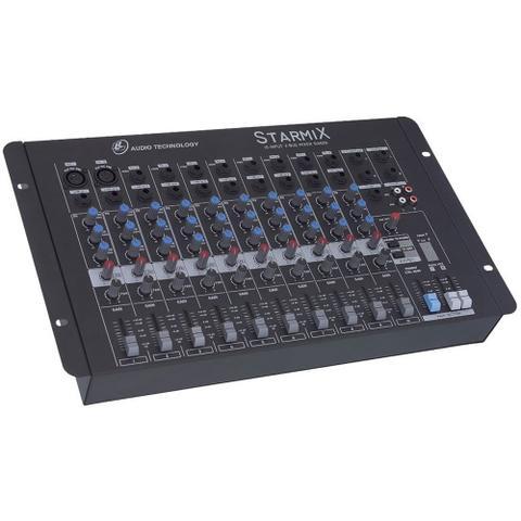 Imagem de Mesa De Som Mixer 10 Canais 3eq Starmix S1002d Ll Áudio
