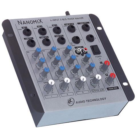 Imagem de Mesa De Som Mixer Nanomix De 4 Canais Na402r Ll Áudio