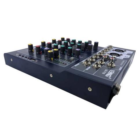 Imagem de Mesa De Som Profissional Usb Mixer Mp3 Player Digital 4 Canais Le-710 Bivolt