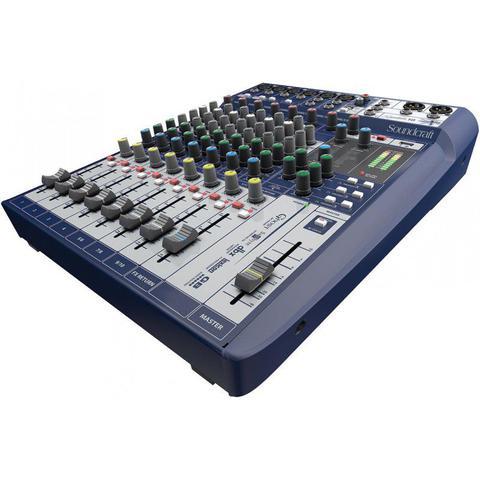 Imagem de Mesa de Som Signature 10 Soundcraft 10 Canais