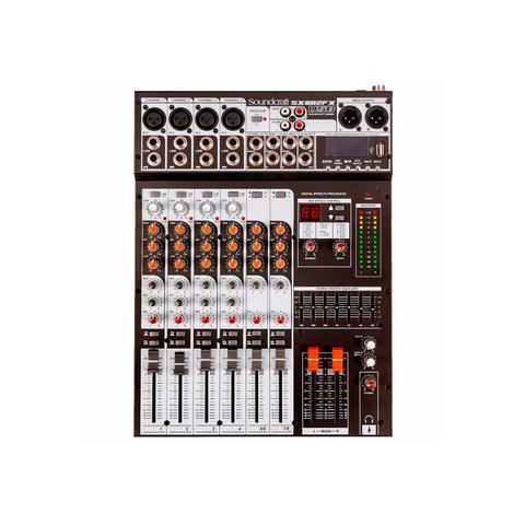 Imagem de Mesa de som soundcraft sx802fx usb