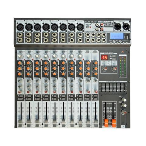 Imagem de Mesa de Som Sx 1202 Fx Soundcraft 12 Canais Usb