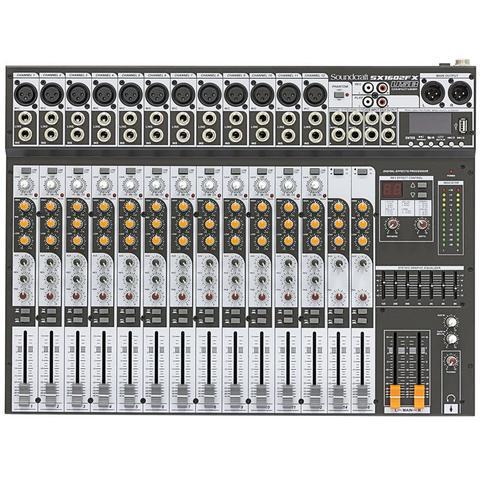 Imagem de Mesa de Som Sx 1602 Fx Soundcraft 16 Canais Usb