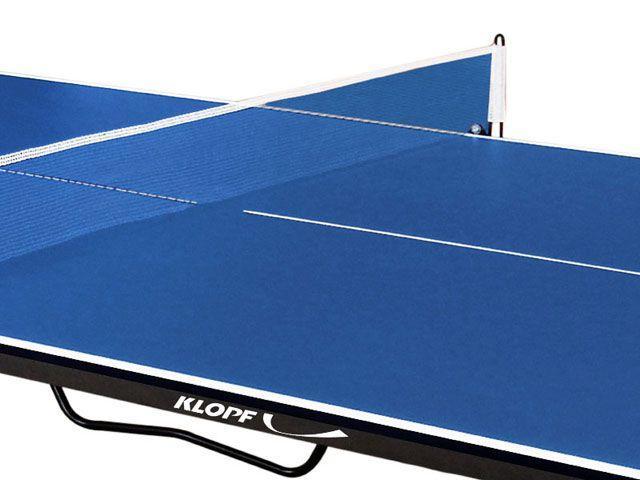 Imagem de Mesa de Tênis de Mesa Dobrável com Rodízios