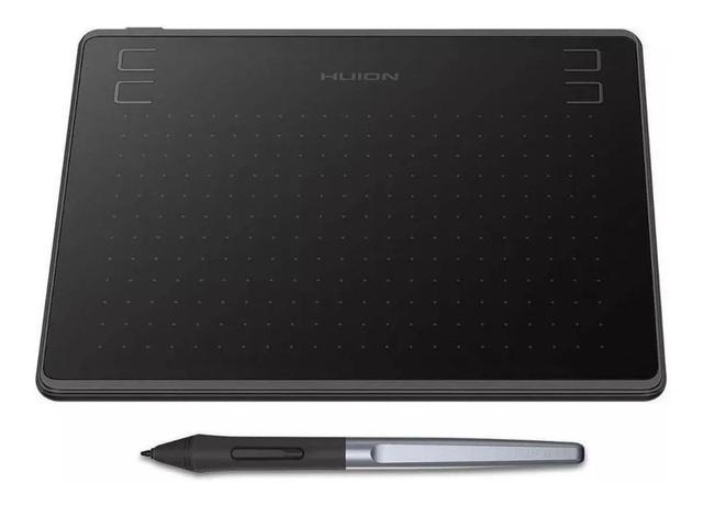 Imagem de Mesa Digitalizadora Huion HS64 Tablet Gráfico, Serve para dar Aula Online