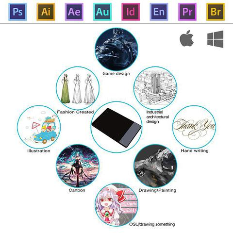 Imagem de Mesa Digitalizadora Huion Inspiroy 420 Pen Tablet