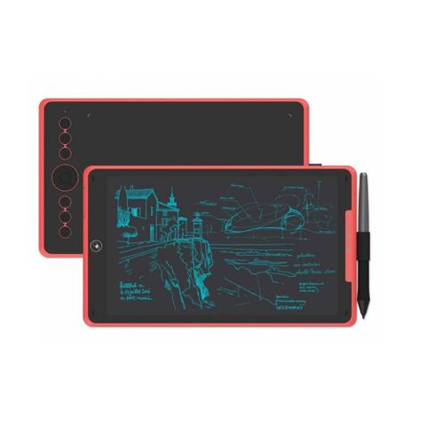 Imagem de Mesa digitalizadora huion inspiroy h320mr coral red