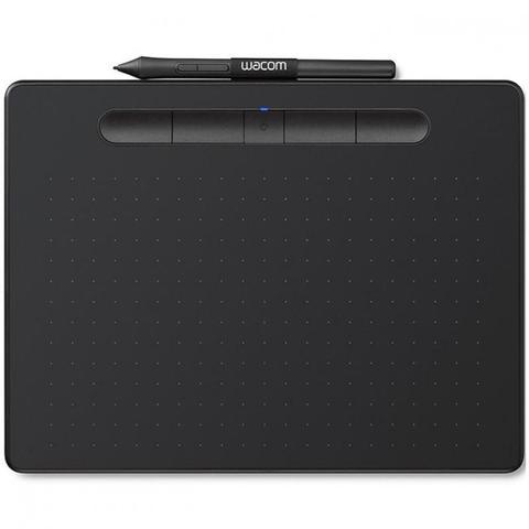 Imagem de Mesa Digitalizadora Intuos Pequena com Bluetooth Preta Wacom CTL4100WLK0