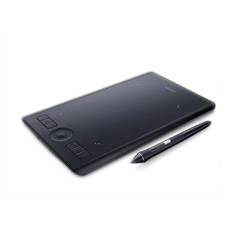 Imagem de Mesa Digitalizadora Wacom Intuos Pro, Pequena, 5080 LPI, USB, Bluetooth - PTH460K0A