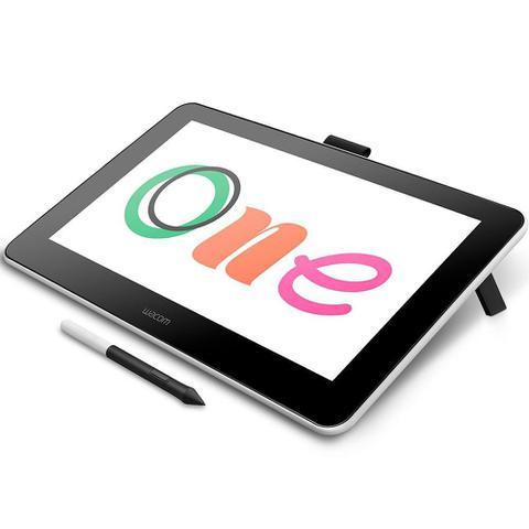 Imagem de Mesa Digitalizadora Wacom One Pen Display DTC133W0A1 Prata