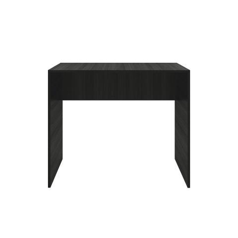 Imagem de Mesa escrivaninha para escritório modelo 02 sem gavetas - drw móveis - preto