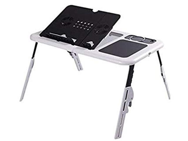 Imagem de Mesa Multi Suporte base cooler Portátil Notebook Dobrável Cama Sofa