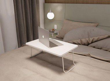 Imagem de Mesa Multiuso Suporte P/notebook Apoio Cama Sofa HOME OFFICE BRANCO