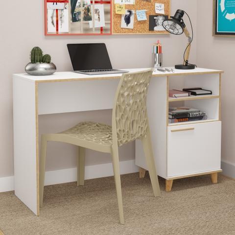 Imagem de Mesa Para Computador E Notebook Com Pés Em Pinus Oslo BC67