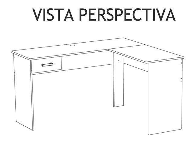 Imagem de Mesa para Computador/Escrivaninha Fênix 1 Gaveta