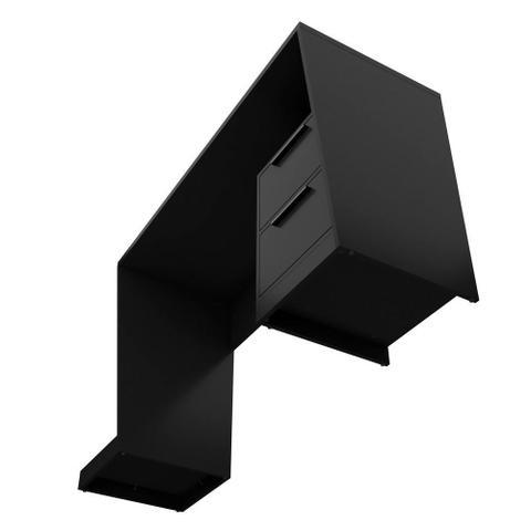 Imagem de Mesa Para Computador Notebook PC Gamer Fantasy BMG-02 Preto Fosco - Lyam Decor